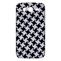 Houndstooth2 Black Marble & White Marble Samsung Galaxy Mega 5 8 I9152 Hardshell Case  by trendistuff