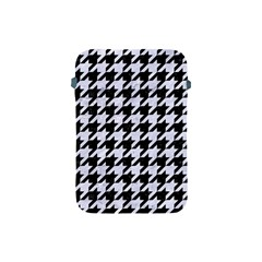 Houndstooth1 Black Marble & White Marble Apple Ipad Mini Protective Soft Case by trendistuff