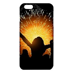 Celebration Night Sky With Fireworks In Various Colors Iphone 6 Plus/6s Plus Tpu Case by Onesevenart