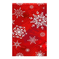 Christmas Pattern Shower Curtain 48  X 72  (small)  by Onesevenart