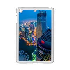 City Dubai Photograph From The Top Of Skyscrapers United Arab Emirates Ipad Mini 2 Enamel Coated Cases by Onesevenart