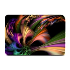 Color Burst Abstract Plate Mats by Onesevenart
