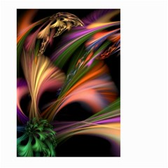 Color Burst Abstract Large Garden Flag (two Sides) by Onesevenart