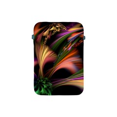 Color Burst Abstract Apple Ipad Mini Protective Soft Cases by Onesevenart