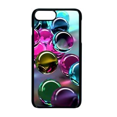 Colorful Balls Of Glass 3d Apple Iphone 7 Plus Seamless Case (black) by Onesevenart