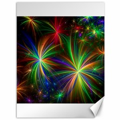 Colorful Firework Celebration Graphics Canvas 36  X 48   by Onesevenart