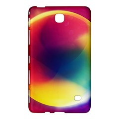 Colorful Glowing Samsung Galaxy Tab 4 (8 ) Hardshell Case  by Onesevenart