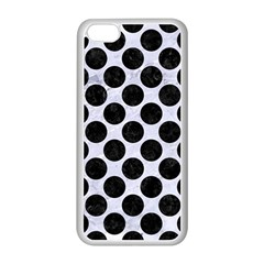 Circles2 Black Marble & White Marble (r) Apple Iphone 5c Seamless Case (white) by trendistuff