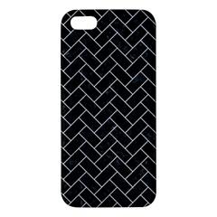 Brick2 Black Marble & White Marble Iphone 5s/ Se Premium Hardshell Case by trendistuff