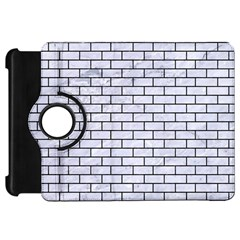 Brick1 Black Marble & White Marble (r) Kindle Fire Hd Flip 360 Case by trendistuff