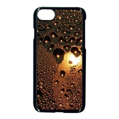 Condensation Abstract Apple Iphone 7 Seamless Case (black) by Onesevenart