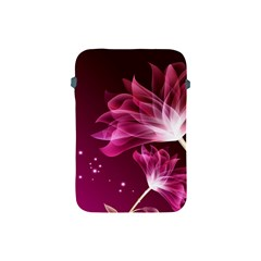 Drawing Flowers Lotus Apple Ipad Mini Protective Soft Cases by Onesevenart
