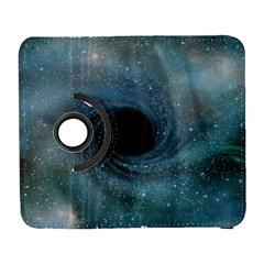 Cosmic Black Hole Galaxy S3 (flip/folio) by Onesevenart