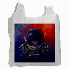 Eve Of Destruction Cgi 3d Sci Fi Space Recycle Bag (two Side)  by Onesevenart