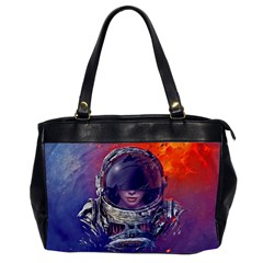 Eve Of Destruction Cgi 3d Sci Fi Space Office Handbags (2 Sides)  by Onesevenart