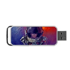 Eve Of Destruction Cgi 3d Sci Fi Space Portable Usb Flash (one Side) by Onesevenart