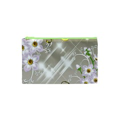 Floral Delight Cosmetic Bag (xs) by Onesevenart