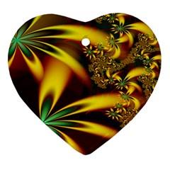 Floral Design Computer Digital Art Design Illustration Ornament (heart) by Onesevenart