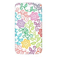 Texture Flowers Floral Seamless Samsung Galaxy Mega I9200 Hardshell Back Case by Jojostore