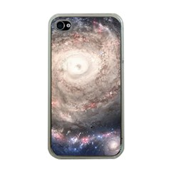 Galaxy Star Planet Apple Iphone 4 Case (clear) by Onesevenart