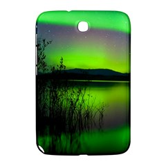 Green Northern Lights Canada Samsung Galaxy Note 8 0 N5100 Hardshell Case  by Onesevenart