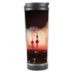 Kuwait Liberation Day National Day Fireworks Travel Tumbler by Onesevenart