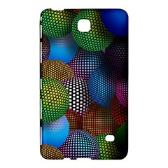 Multicolored Patterned Spheres 3d Samsung Galaxy Tab 4 (8 ) Hardshell Case  by Onesevenart