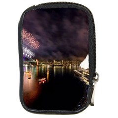 New Year's Evein Sydney Australia Opera House Celebration Fireworks Compact Camera Cases by Onesevenart