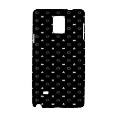 Space Black Samsung Galaxy Note 4 Hardshell Case by AnjaniArt