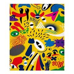 Yellow Eye Animals Cat Shower Curtain 60  X 72  (medium)  by AnjaniArt