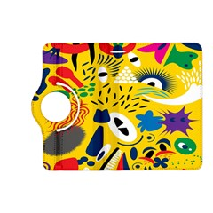 Yellow Eye Animals Cat Kindle Fire Hd (2013) Flip 360 Case by AnjaniArt