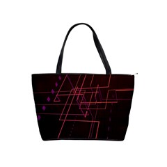 Space Path Line Shoulder Handbags by AnjaniArt