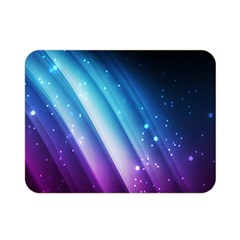 Space Purple Blue Double Sided Flano Blanket (mini)  by AnjaniArt