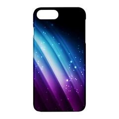 Space Purple Blue Apple iPhone 7 Plus Hardshell Case by AnjaniArt