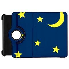 Star Moon Blue Sky Kindle Fire Hd 7  by AnjaniArt