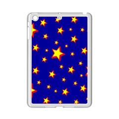 Star Blue Sky Yellow Ipad Mini 2 Enamel Coated Cases by AnjaniArt