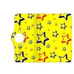 Star Yellow Red Blue Kindle Fire Hdx 8 9  Flip 360 Case by AnjaniArt