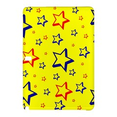 Star Yellow Red Blue Samsung Galaxy Tab Pro 12 2 Hardshell Case by AnjaniArt