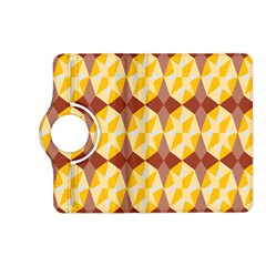 Star Brown Yellow Light Kindle Fire Hd (2013) Flip 360 Case by AnjaniArt