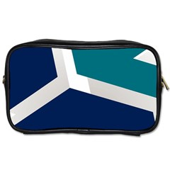 Tri Star Flag Toiletries Bags 2 Side by AnjaniArt