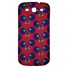 Texture Bright Circles Samsung Galaxy S3 S Iii Classic Hardshell Back Case by AnjaniArt