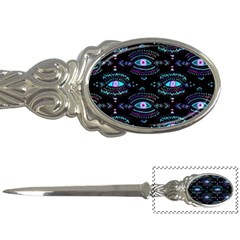 Third Eye Purple Letter Openers by AnjaniArt