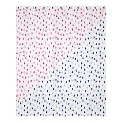 Triangle Red Blue Shower Curtain 60  X 72  (medium)  by AnjaniArt
