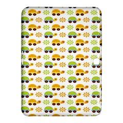 Turtle Green Yellow Flower Animals Samsung Galaxy Tab 4 (10 1 ) Hardshell Case  by AnjaniArt
