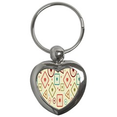 Wheel Love Valentine Key Chains (heart)  by AnjaniArt