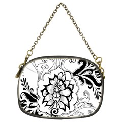 Free Floral Decorative Chain Purses (two Sides)  by AnjaniArt