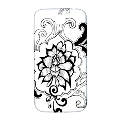 Free Floral Decorative Samsung Galaxy S4 I9500/i9505  Hardshell Back Case by AnjaniArt