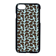 Giraffe Skin Animals Apple Iphone 7 Seamless Case (black) by AnjaniArt