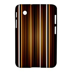 Line Brown Samsung Galaxy Tab 2 (7 ) P3100 Hardshell Case  by AnjaniArt