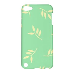 Pastel Leaves Apple Ipod Touch 5 Hardshell Case by AnjaniArt